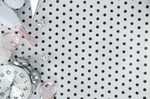 polka dot New Years display