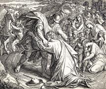 Jacob Meets Esau, Genesis 33:1-4