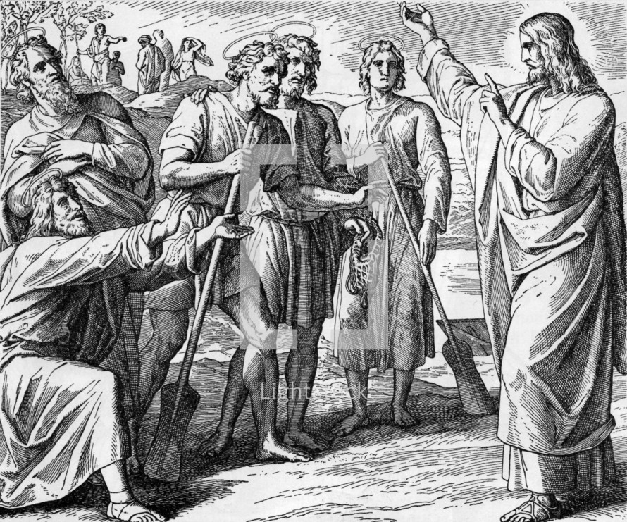 Jesus' First Disciples, John 1: 35-51