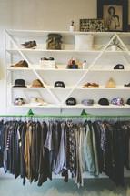 men's clothes in a Portland boutique