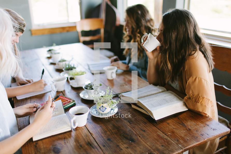 a women's group Bible study