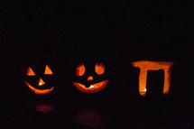 jack-o-lantern pumpkins for Halloween