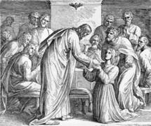 Communion, Matthew 26, 20-29