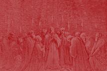 Pentecost Vintage red