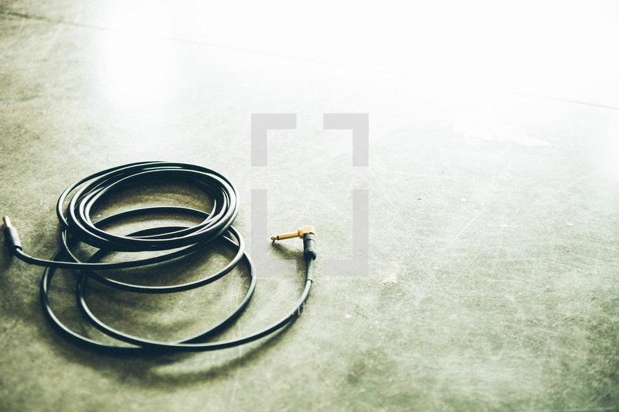 amp cords