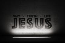 way, truth, life, Jesus