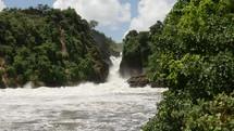 waterfall in Uganda
