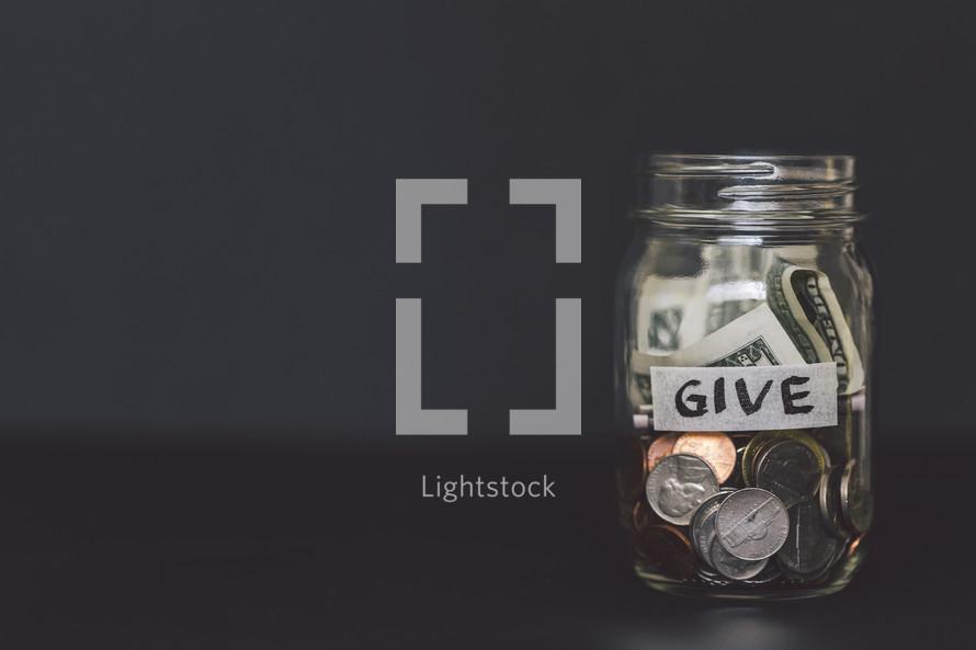 give jar
