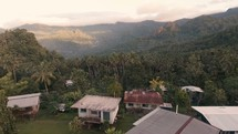 Flyover of mountain top village in Papua New Guinea from a recent missions trip.