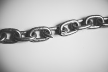 Broken link in a chain.