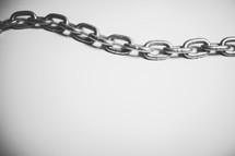 Chain links.