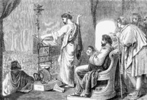 Paul and Barnabas, Acts 14:1
