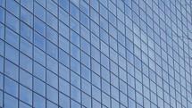 windows on an urban building