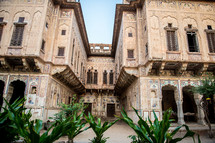 architecture in Mandawa, India