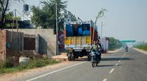 highway in Mandawa, India