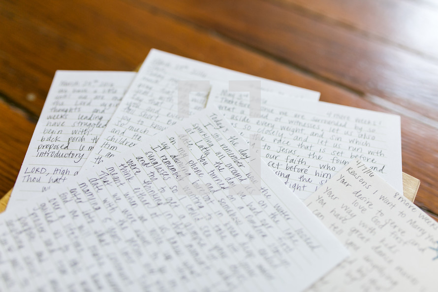 a love letter on your wedding day