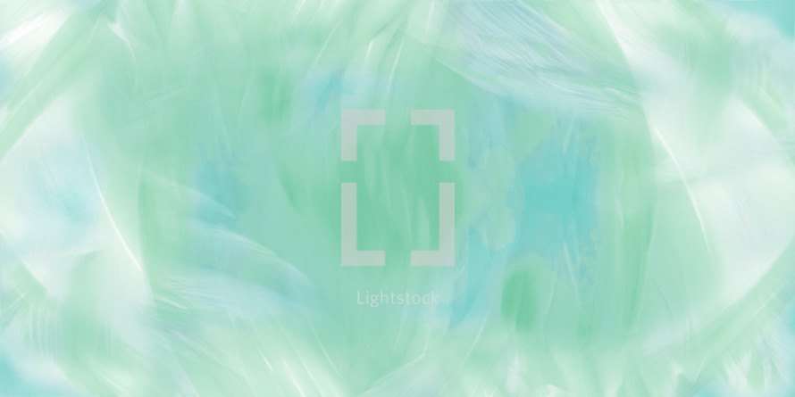 green brush stroke abstract background