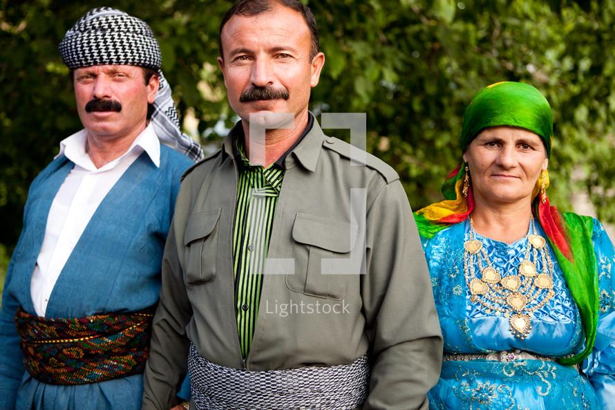 Kurdish villages, traditional dress