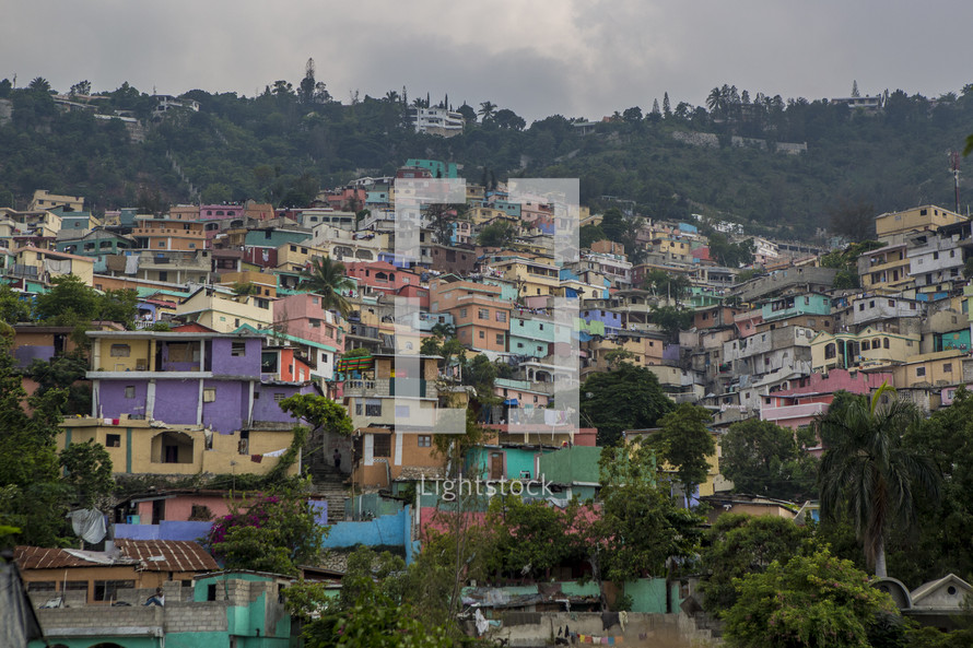 Houses in Port Au Prince