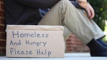 Homeless and hungry please help