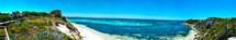 panorama of coastline