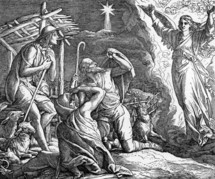 The Shepherds and the Angels, Luke 2:14