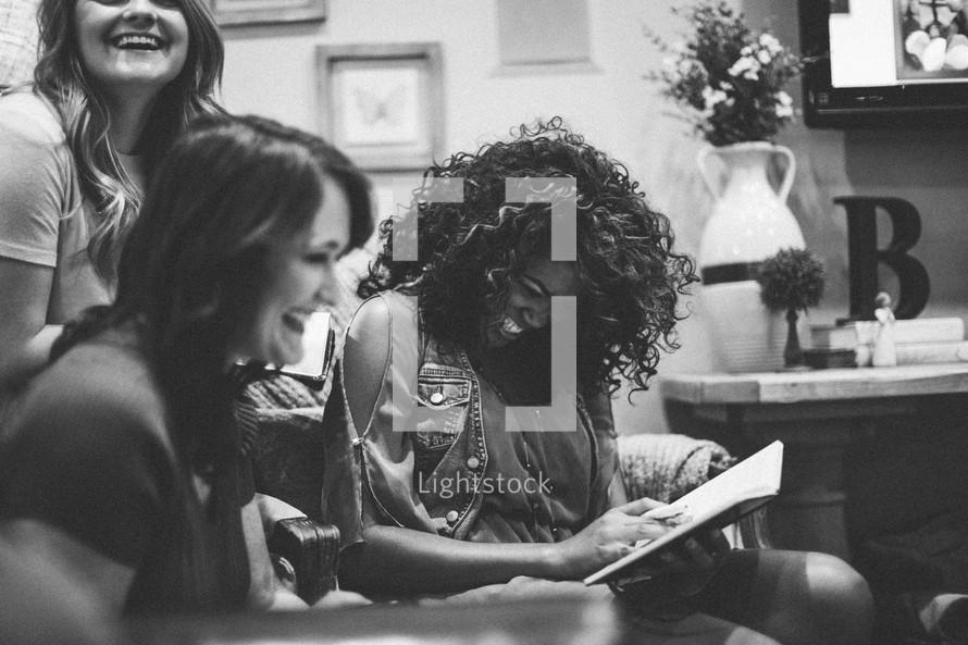 women at a Bible study