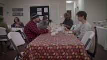 homeless shelter meal