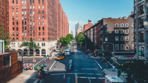 New York City traffic day