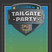 football taligate bowl game watch party event