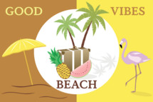 Good vibes beach