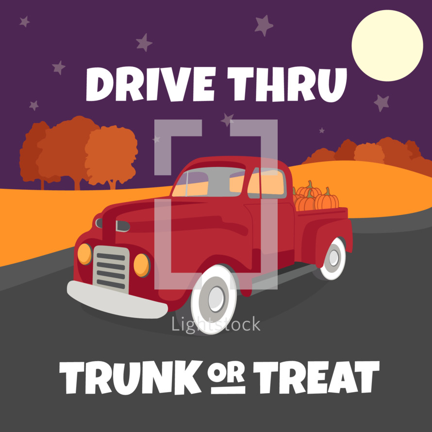 covid-19 safe trunk or treat drive thru event