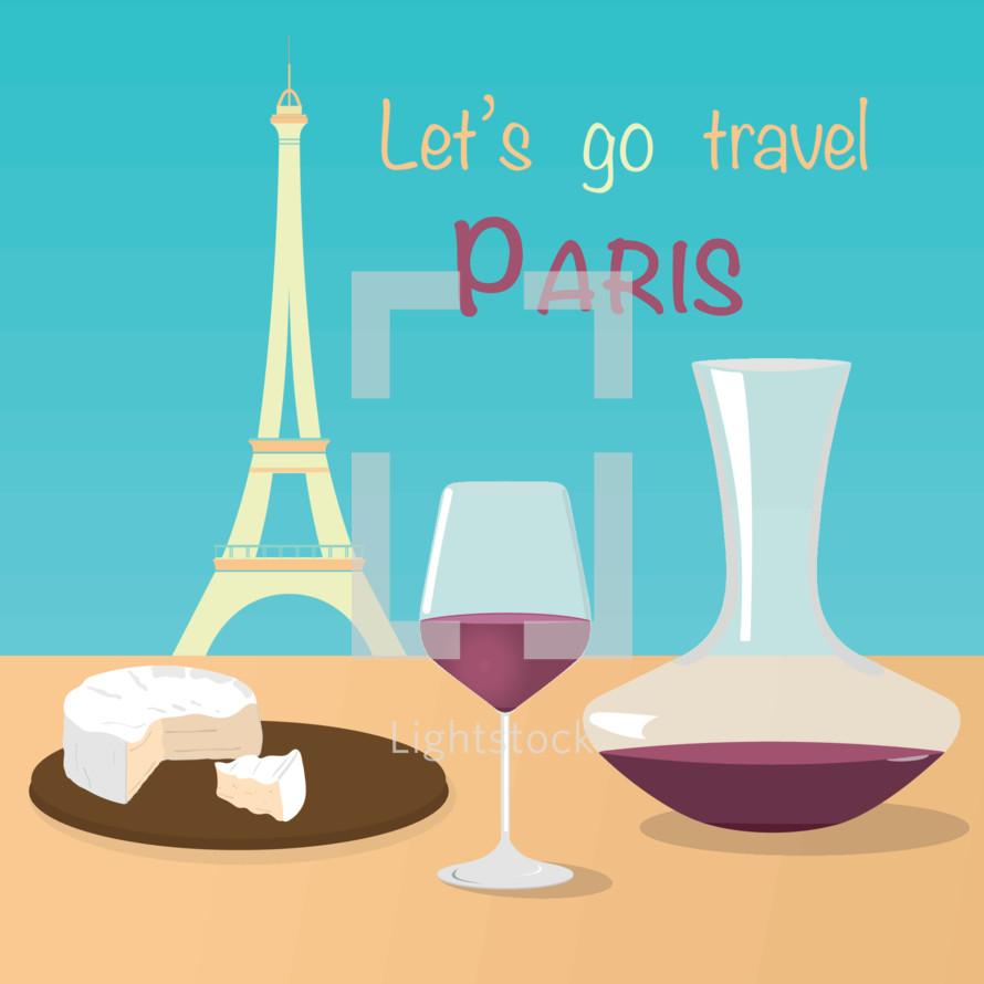 Let's go travel Paris