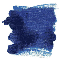 blue texture paint splotch