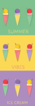 summer vibes ice cream