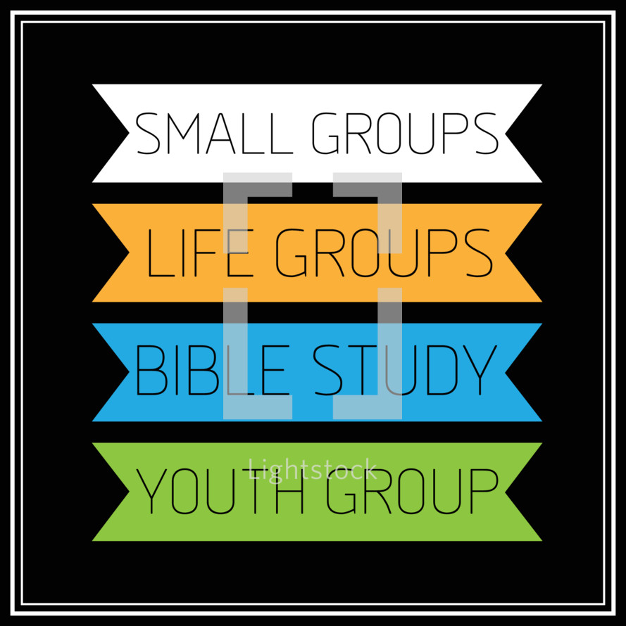 small groups, life group, youth group, Bible study