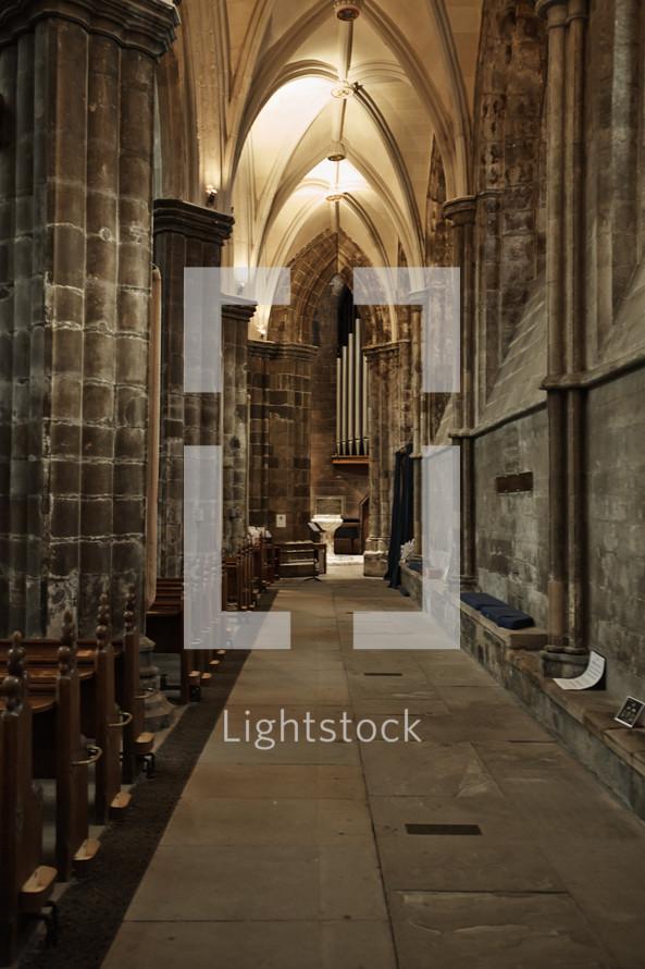 interior of Paisley Abbey