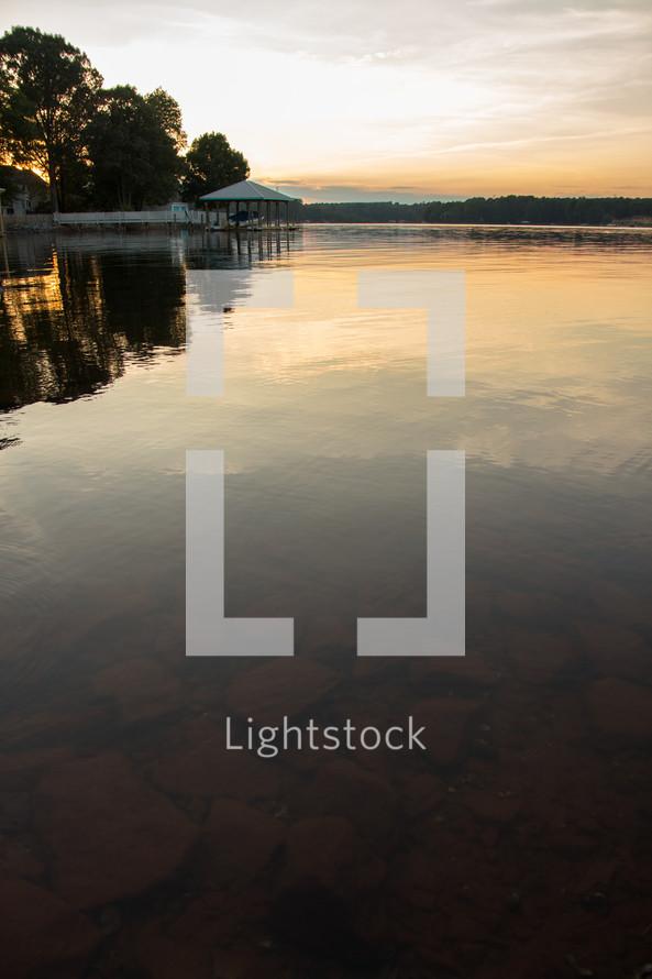 lake bottom