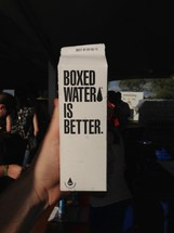 Boxed water is better carton
