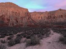 red rock cliffs in Arizona