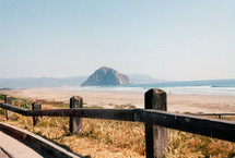 Morro Bay California, a small resort beach town located in Central California.