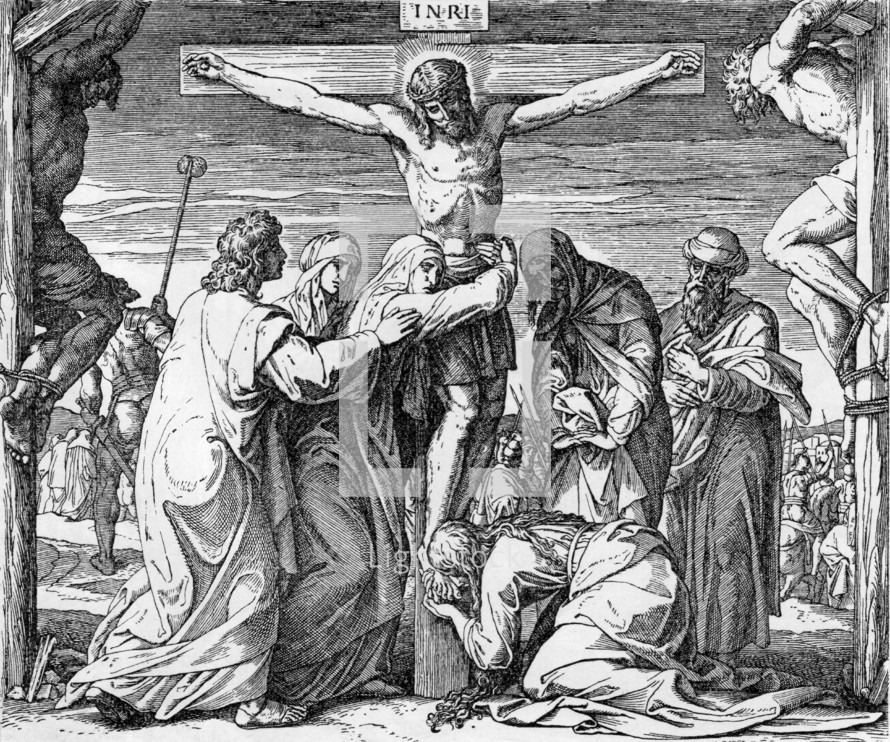 Jesus Christ Crucified, John 19:25-30
