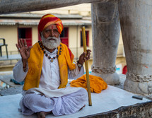 a man in India