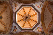 ornate church ceiling