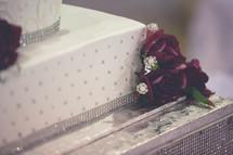 wedding cake, layered cake, floral cake,