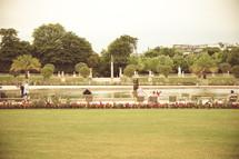 Paris Luxembourg Gardens pond