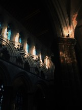 cathedral pillars