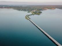 bridge across water
