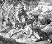 The Good Samaritan, Luke 10: 33-34