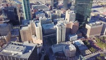 aerial view over Fort Worth